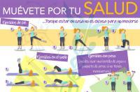 El Colegio de Fisioterapeutas recomienda 'moverse por salud' durante el confinamiento