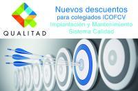 La empresa de gestión de la Calidad, Qualitad, amplía sus descuentos para los colegiados del ICOFCV
