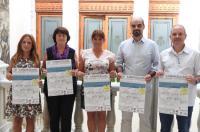 El Colegio de Fisioterapeutas de la CV presenta la III Jornada Solidaria en el Ayuntamiento de Castellón