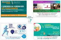Si eres colegiad@ del ICOFCV puedes participar en 4 sorteos y ganar una inscripción gratuita para cursos, jornadas y congresos de Fisioterapia