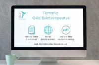 El ICOFCV facilita a sus colegiados el temario para la OPE de fisioterapeutas