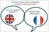 El Colegio de Fisioterapeutas lanza cursos de francés e inglés para sus colegiados