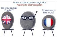 ¡Ya puedes inscribirte a los nuevos cursos de francés e inglés para colegiados del ICOFCV