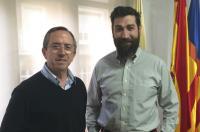 Ginés Almazán visita la sede de Valencia del ICOFCV