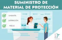 Actualizado el listado de proveedores de material de protección individual