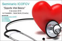 """""""Soporte Vital Básico"""", próximo seminario del ICOFCV el 8 de enero en Castellón"""