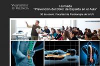 La Facultad de Fisioterapia de la UV organiza diversas actividades para que profesores y alumnos de secundaria y bachiller aprendan cómo cuidar la espalda